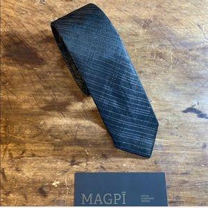 Calvin Klein Super Slim Black Tie